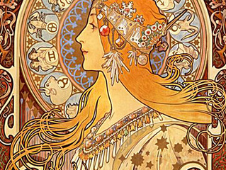 Spotlight Artist: Alphonse Mucha - Art Nouveau Movement