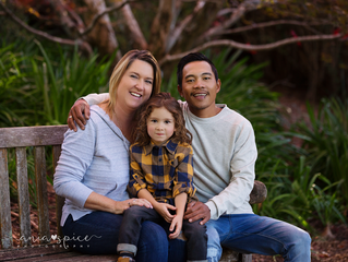 Cathie, Charlie and David family session