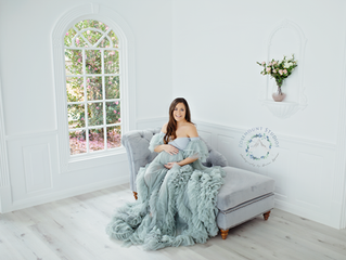 Chanel's maternity session