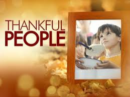 Come, Thankful People