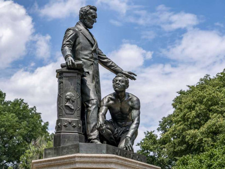DC Statue Of Lincoln Standing Over A Formerly Enslaved Man Sparks Controversy (NPR)