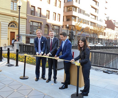 FMCC Installs the First U.S. Outdoor Kinetic Pavers in Dupont Circle