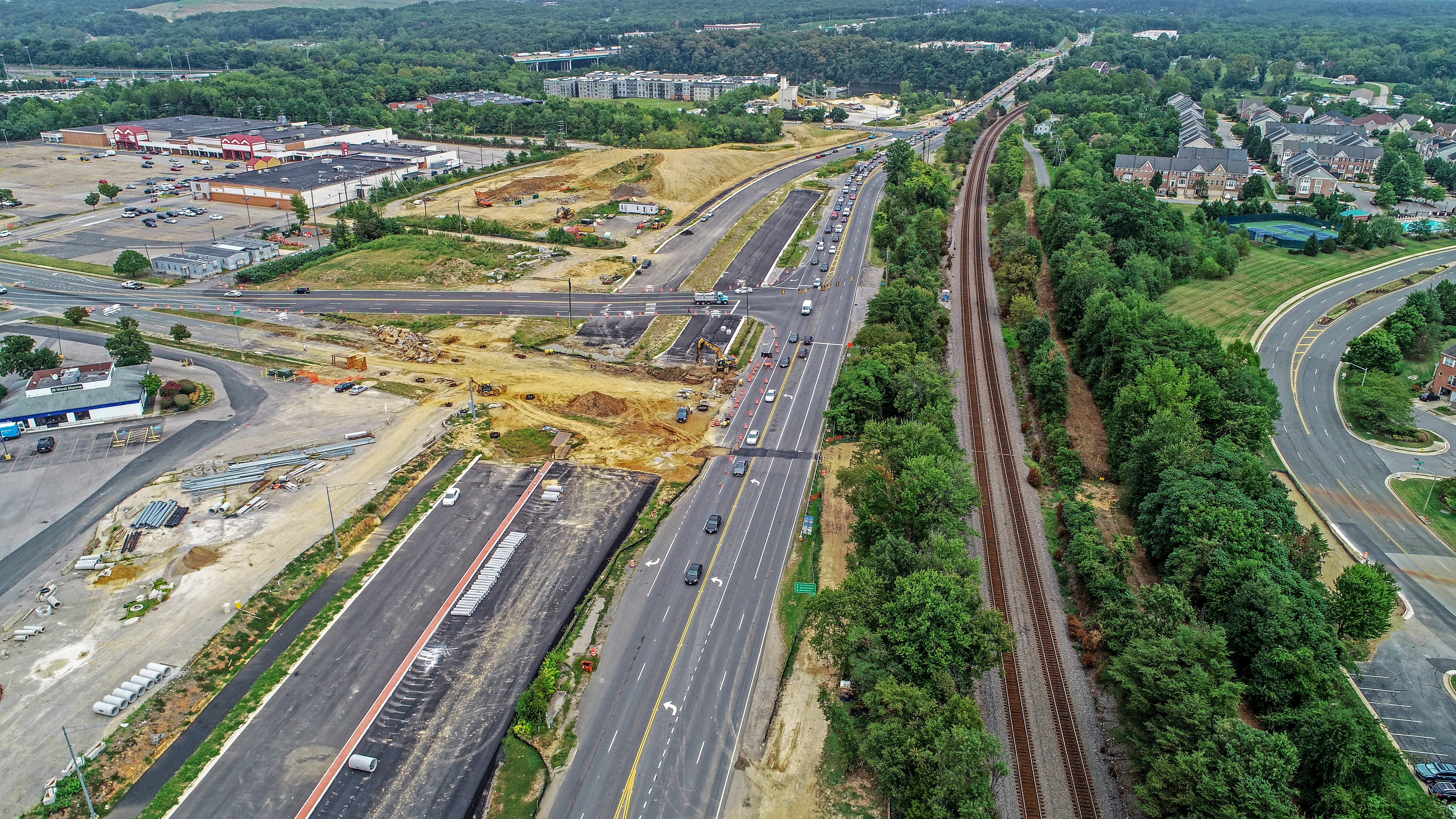 ROUTE 1 WIDENING IN PRINCE WILLIAM COUNTY
