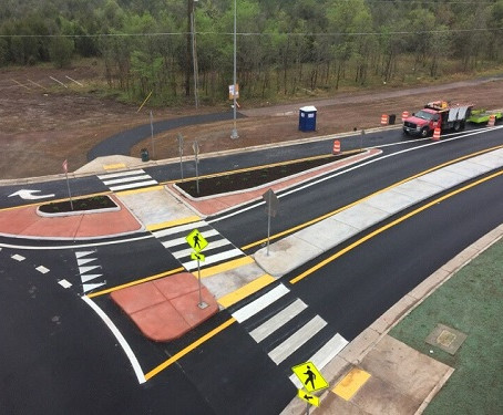 FMCC Completes Challenging New Roundabout Construction in Fairfax County