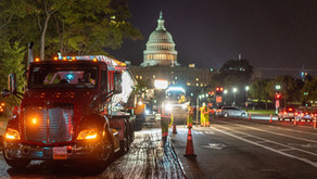 Paving Begins on Pennsylvania Ave Ahead of the Presidential Inauguration