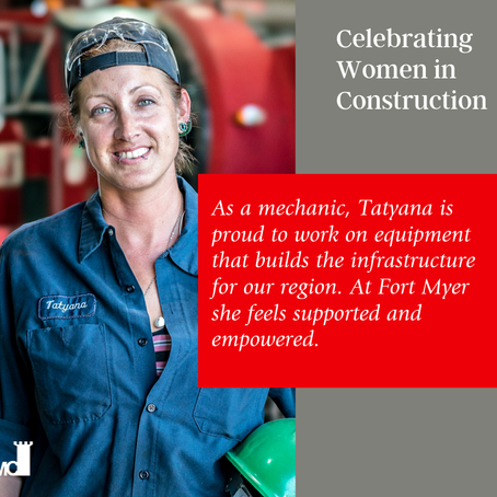 Fort Myer Construction Celebrates Women in Construction