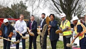 Maryland Avenue project groundbreaking and Potholepalooza