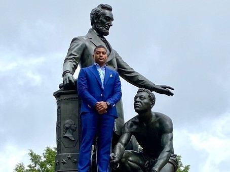 GOODWIN STARTS PETITION TO REMOVE THE LINCOLN PARK EMANCIPATION MEMORIAL IN WASHINGTON, DC
