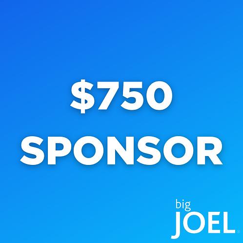 bigJOEL Live! Event Sponsorship