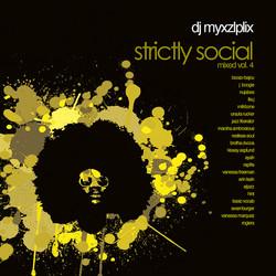 DJ Myxzlplix: Strictly Social, Vol. 4