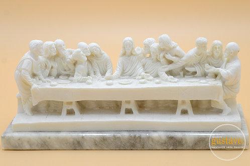 La Cène sculpté à la main - Italie