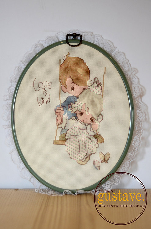 Petit point encadré