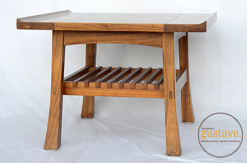 Table d'appoint en bois massif