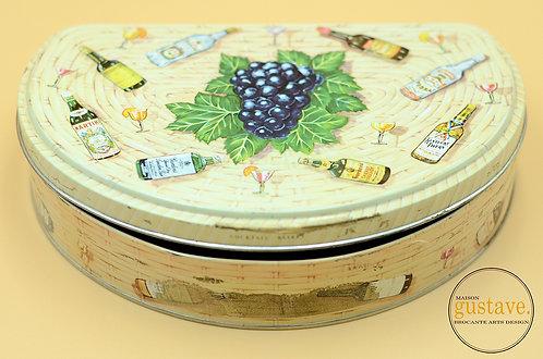 """""""Cocktail basket"""" par Huntley & Palmers Ltd, Angleterre"""