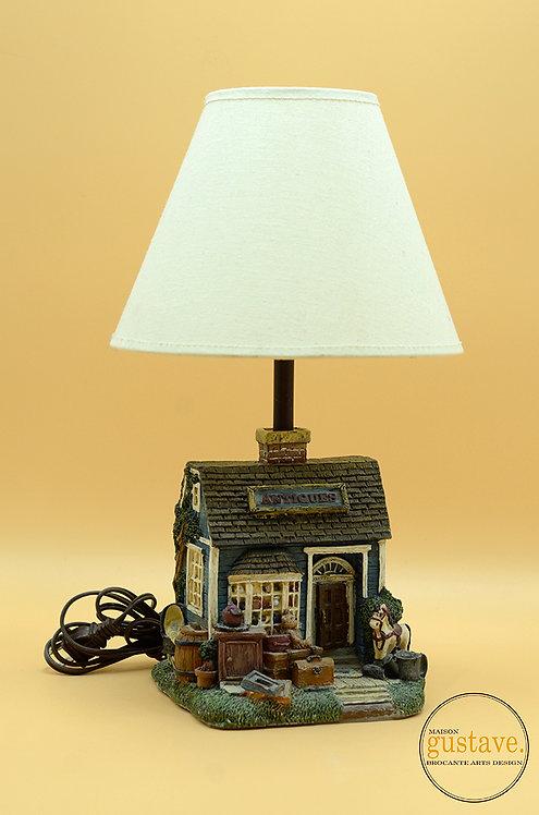Lampe de table magasin antique