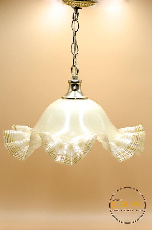 Luminaire en verre soufflé de Murano