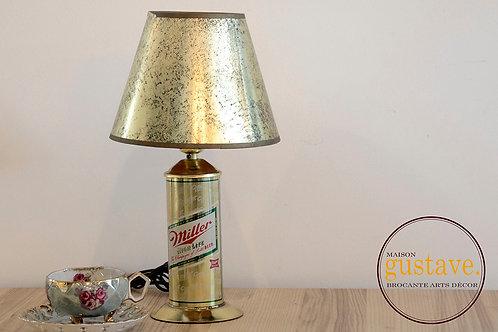 Lampe à l'effigie de Miller/High Life