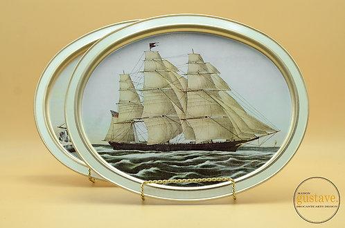 "Plateau Guildcraft Clipper Ship ""Flying cloud"""