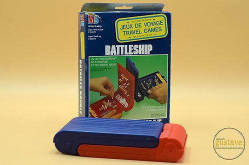Jeu de Battleship de voyage