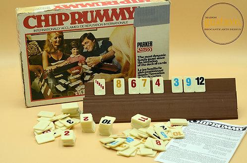 Chip Rummy vintage