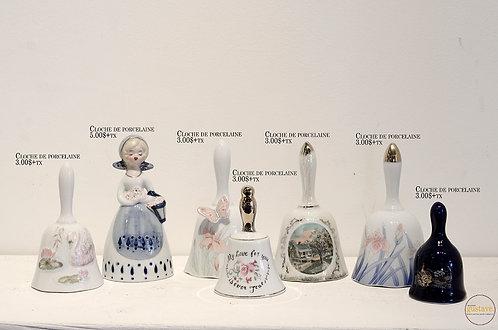 Cloches de porcelaine