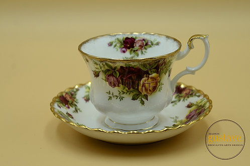 Tasse Old country roses par Royal Albert