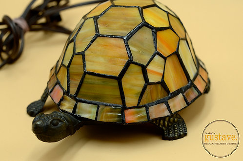 Lampe tortue style Tiffany