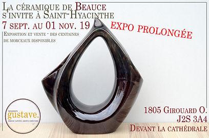 AFFICHE_CÉRAMIQUE_DE_BEAUCE_EXPO_PROLONG