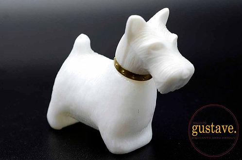 Bouteille de parfum Avon en forme de Scottish Terrier