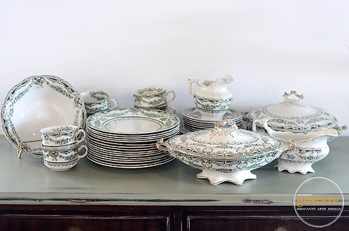 """8 couverts """"King Edward"""" The Montreal Crockery Co."""