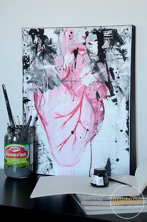 Coeur (Autoportrait)