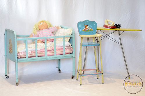 Rare ensemble à poupées Amsco Doll-e 1950