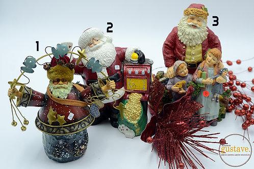 Père-Noël décoratifs (au choix)