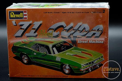 Revell '71 Cuda Street Machine
