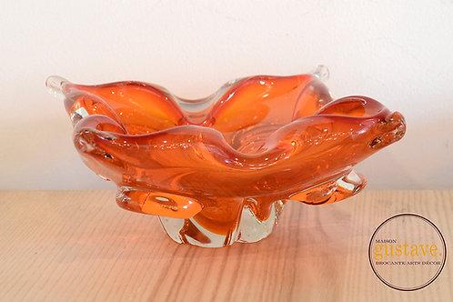Cendrier en verre soufflé canadien