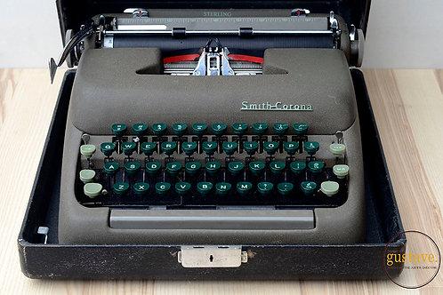 Machine à écrire Smith Corona Sterling