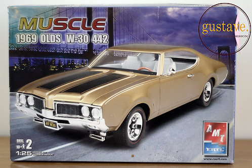 AMT Muscle 1969 Olds W-30 442