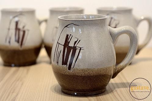 Magnifiques tasses en céramique