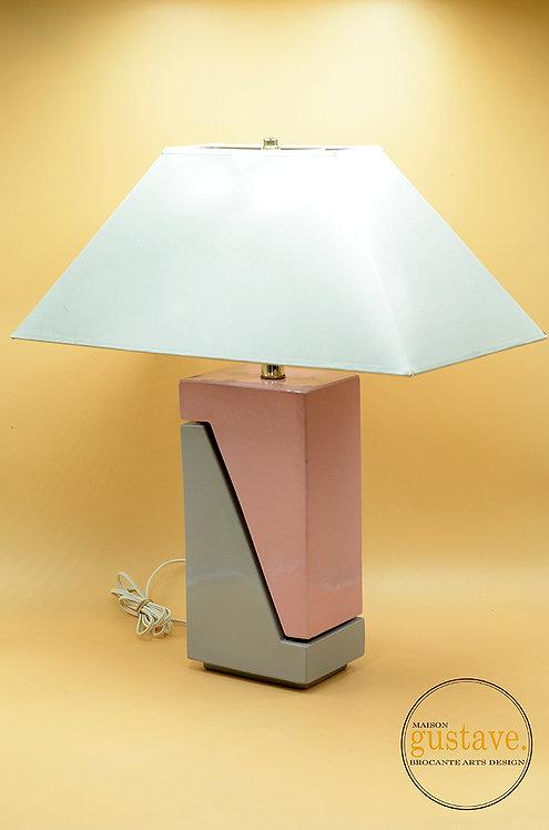 Grande lampe de table 80's