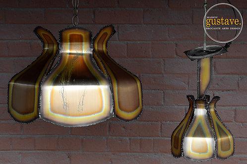 Luminaire en cuivre