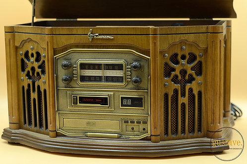 Radio Emerson - Table tournante, CD, AM/FM, cassette