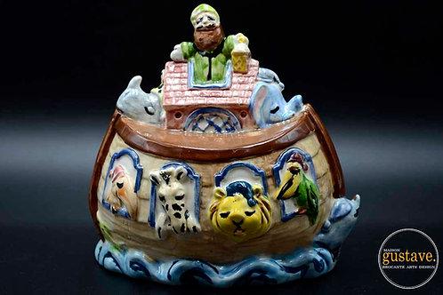 Tirelire Arche de Noé en céramique