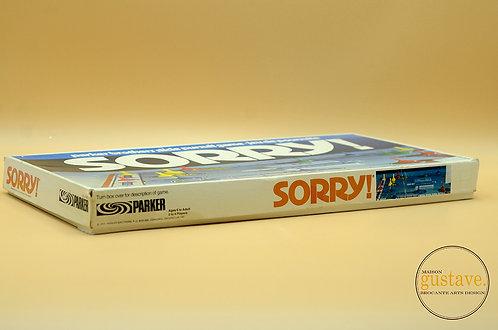 Jeu Sorry! 1972