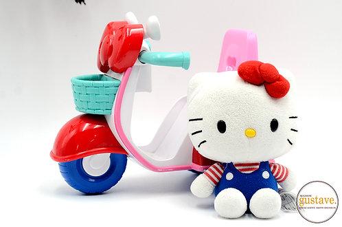 Hello Kitty rainbow chasing scooter avec la peluche - discontinué