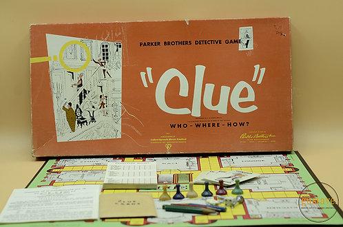 1956 Clue de Parker Brothers