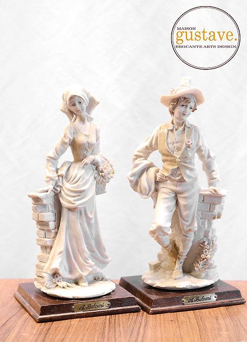 Sculptures A. Belcari signé Pucci 1984