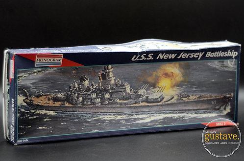 Monogram U.S.S. New Jersey Battleship