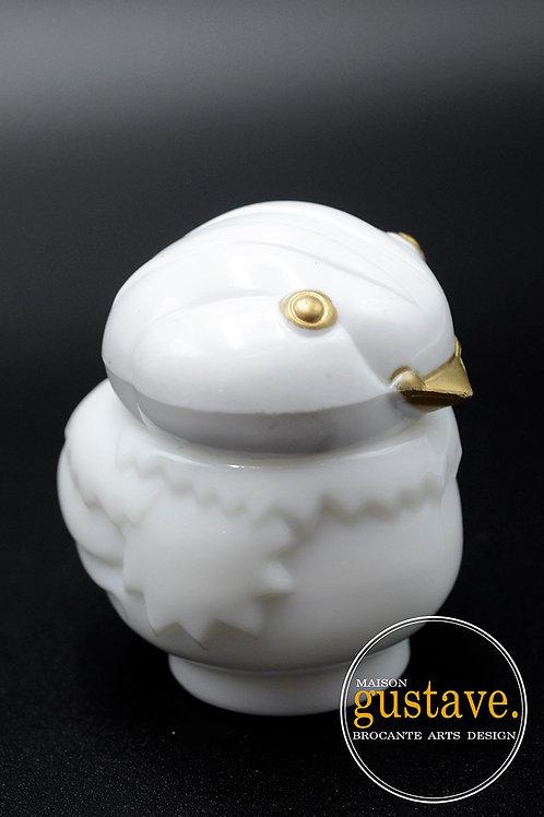 Flacon de parfum oiseau