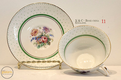N&C, Bone China d'Angleterre