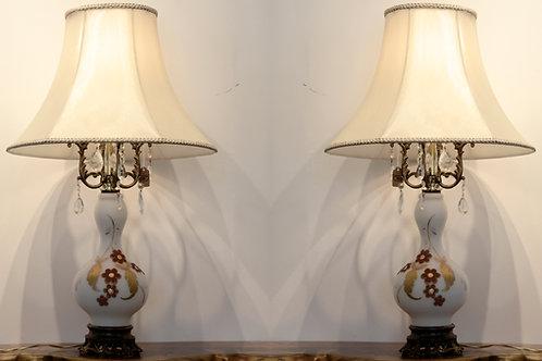 Duo de lampes anciennes